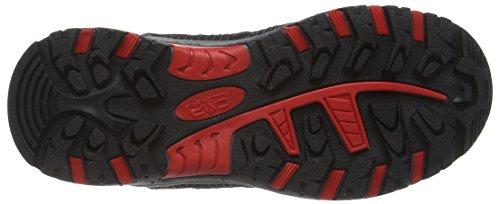 C.P.M. Rigel, Chaussures de randonnée garçon Rouge - Rot (Lacca C675)