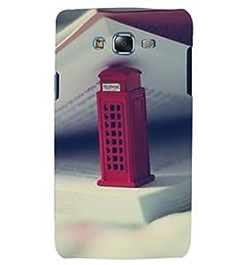 Fuson 3D Designer Mobile Back Case Cover For Samsung Galaxy J7