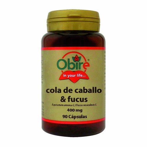 COLA DE CABALLO + FUCUS 400 MG. 90 CAPSULAS - Obire