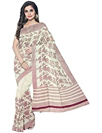 Sakhi Womens Blended Tussar Saree_IMR-2357_Multi-coloured_Free Size