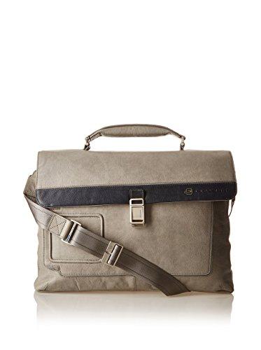 Piquadro Laptoptasche CA1045VI Braun grigio e blu