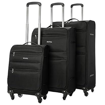 EONO-Essentials-Ultraleichter-Reisetrolley-Koffer-mit-4-Rdern