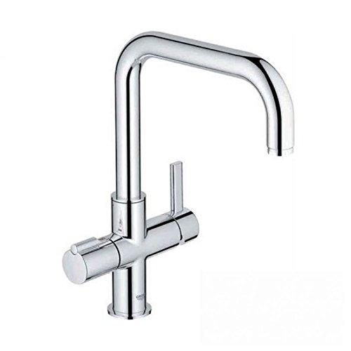 itho Gusto 3-in-1100Grad Kochendes Wasser Wasserhahn, Chrom,