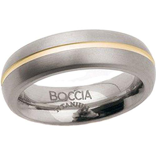 Boccia Damen-Ring Titan Bicolor Gr.56 0102-0356