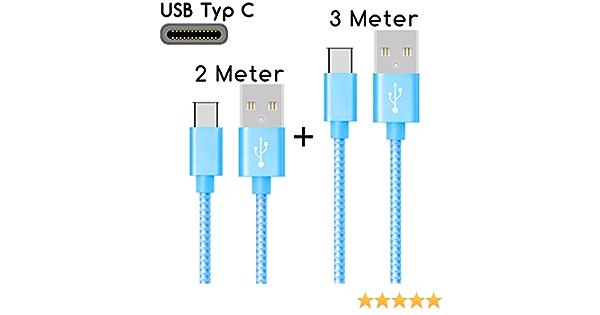 Thesmartguard Usb C Kabel Auf Usb 2 0 2m 3m Elektronik