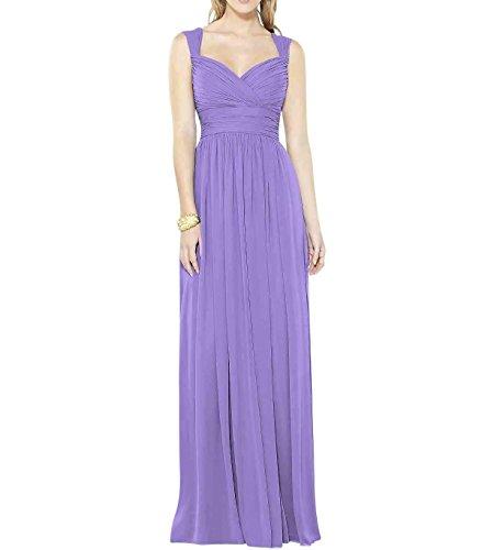 KA Beauty - Robe - Fille Violett - Fliederfarben