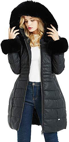 Geschallino Abrigo Largo de Invierno para Mujer
