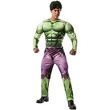 Disfraz de Hulk Marvel deluxe para adulto