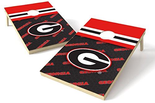Proline NCAA 2'x3' Cornhole Set–Schweinsleder Design, Georgia Bulldogs 2x3 Cornhole Board...