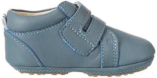 Bellybutton Babyschuhe, Chaussons pour enfant bébé garçon Blau (celeste)
