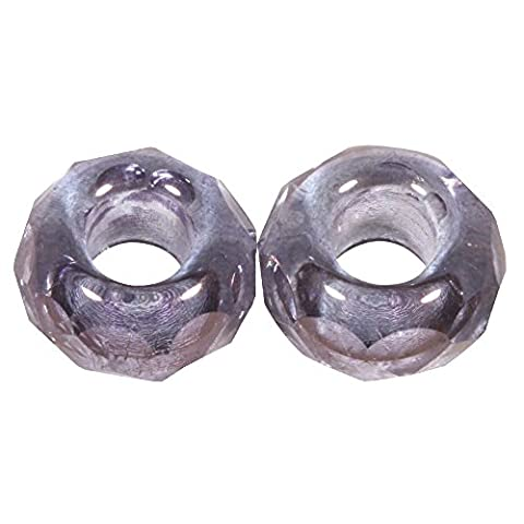 RAYHER Magic Flair Cut 14587308–Glass Bead / Large Opening /