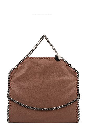 Stella-Mccartney-Womens-234387W91326464-Brown-Polyester-Handbag