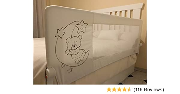Farbe: Griffin Grey Bettschutzgitter f/ür Kinder ab 18 Monaten bis 5 Jahren ZOPA Bettgitter Monna pflegeleicht Rausfallschutz mit Gelenk zum Aufklappen Babybettgitter mit einfacher Montage