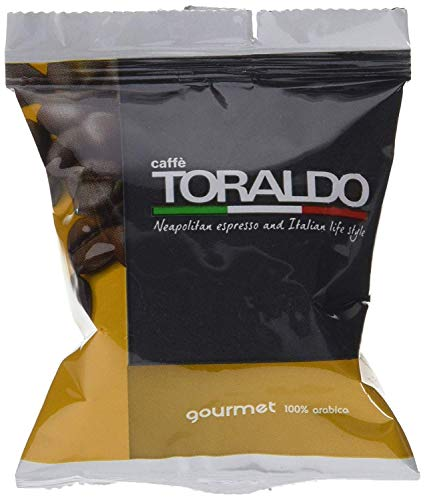 500 Capsule Compatibili Nespresso Caffè Toraldo Miscela Gourmet