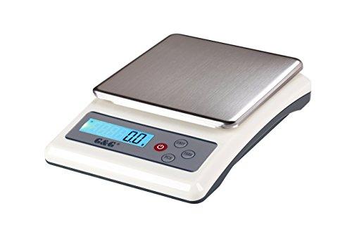 g & G kf6000 a ou kf30000 a 0,1 g – Balance de cuisine 6000 g Pèse-lettre Table Balance, KF3000A: 3000g / 0,1g