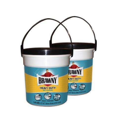 brawny-heavy-duty-wet-cloths-canister-fresh-scent-150-count-wipes-pack-of-2-by-brawny