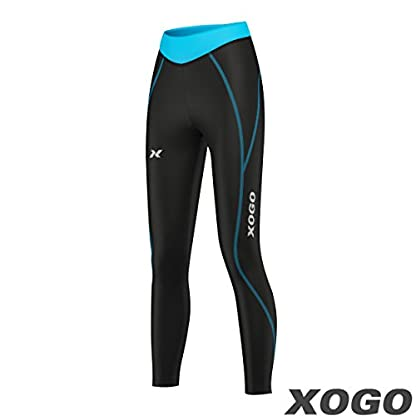 XOGO Womens Compression Base layers for All Season - Long Sleeve Compression Tops and Legging – Sports Base layers for Women - For Running, Cycling and Yoga – UV Sun Protection and 4 Way Stretch 5