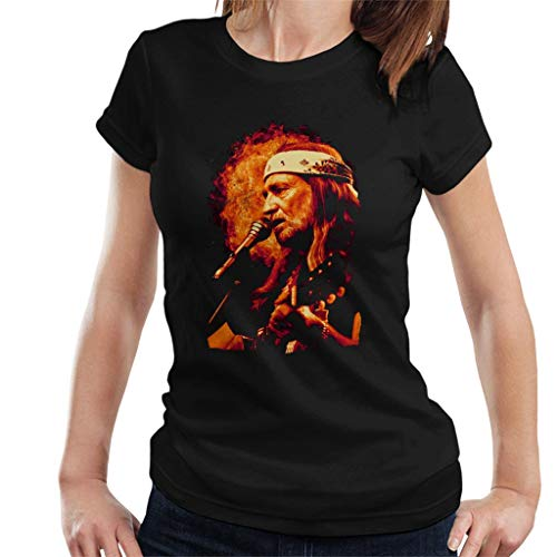 TV Times Singer Willie Nelson 1983 Women's T-Shirt -
