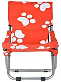 #9: Kothi Lifestyle Signature Sun Chair (Red and White)