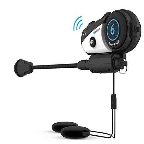 KCaNaMgAl Motorrad Bluetooth-Walkie-Talkie, Helm-Headset, drahtlose Sprechanlage, Fahrrad-Ausrüstung. Freier Wechsel mehrerer Kommunikationsmodi