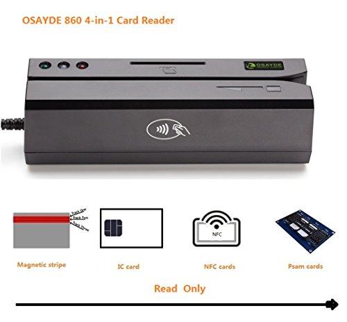 ITOSAYDE860 3-en-1 USB MSR Magstripe & RFID NFC &