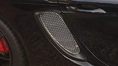 Finition Noir Ensemble calandre Prise dair lat/érale 2005-2013 Zunsport Compatible avec Porsche Cayman 987.1 and 987.2