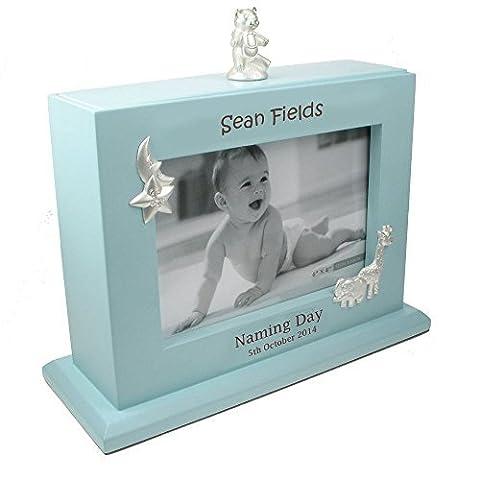 Personalised Engraved Naming Day Gift, Naming Day Keepsake Gift, Photo Gift Ideas, Baby Boy Naming Day Photo Album by Personalised Gift Ideas