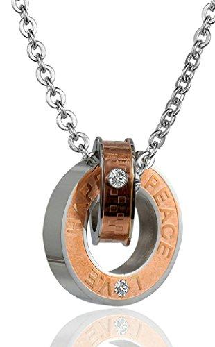 gnzoe-gioielli-donna-acciaio-inossidabile-interlocking-anello-cz-amorehappy-peace-collana-nero
