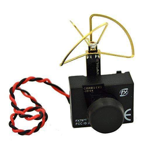 LHI FX797T 3-In-1 Super Mini 5.8G 40ch AV Video Transmitter TX 600TVL Mini Fpv Micro Camera Leaf Antenna Combo For QAV250 Quadcopter Multicopter - 3