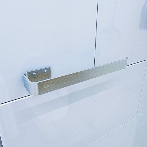 Toallero Acroos para el baño y la cocina, adecuado para toallas de baño, de manos y de cocina, Soporte para toallas de gran resistencia, ahorra espacio con un diseño moderno y elegante