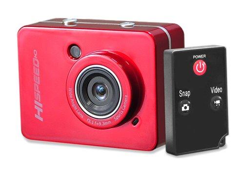 Pyle Hochgeschwindigkeit-HD Digitalkamera (1080p, Full-HD-Video, 12 Megapixel, 6,1 cm (2,4 Zoll) Touch Screen) silber