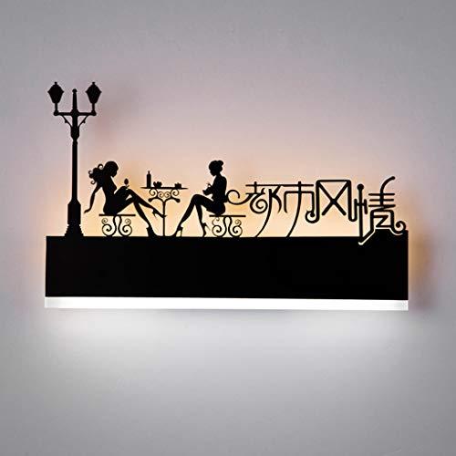 Augrous Lampe Murale, 12W LED Applique murale Up Down Chambre Salon Intérieur Décoration Lampe