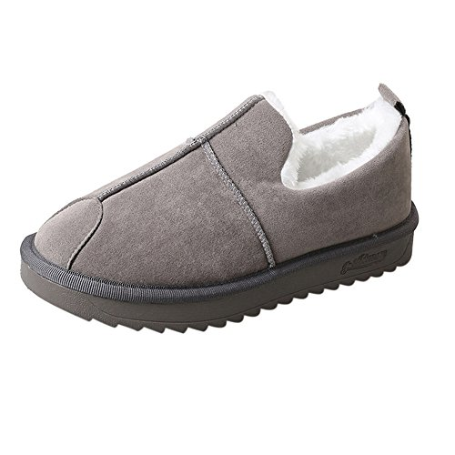 35229b04d Boots Sunday77 Solid Flock Flat Ankle Plus Lined Fleeces Cross-Tied Ladies  Winter Adults Comfort