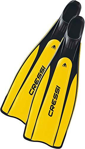 Cressi Pro Star - Palme chaussante de Snorkeling / Apnée / Plongée
