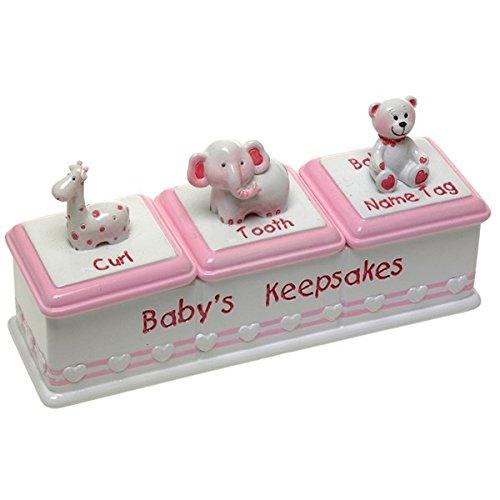Baby Girl Keepsake Box