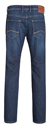 MAC Herren Straight Jeans Ben Alpha Denim/New Basic Denim H741dark vintage wash