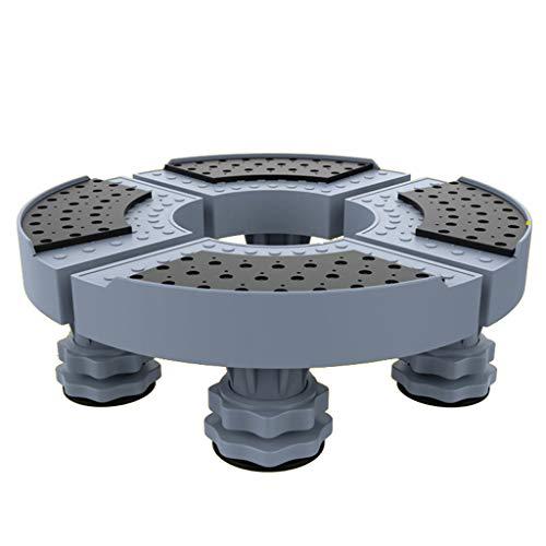 TLMYDD Klimaanlage Basis Runden Schrank Rack-Trockner Waschmaschine Und Kühlschrank 4 Starke Fuß Waschmaschine Halterung Gerätebasis