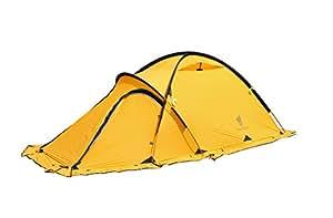 GEERTOP® Tente Alpine Trekking 4 Saisons 2 Personnes - Léger Imperméable - Pour Camping Randonnée Escalade - 120 x 210 x 100 cm (Jaune)