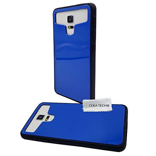 CEKATECH Custodia Blu in Silicone Gel Compatibile con NGM Dynamic Star