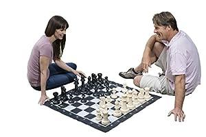 Traditional Garden Games - Juego Gigante de ajedrez, 2 Jugadores Importado