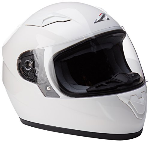Astone Helmets gt2 km-whs casco Moto Integral GT Kid Gloss, Color blanco brillante, talla S