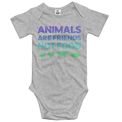 faecbe7f06e2 Animals Are Friends Not Food Vegans Vegetarian Newborn Baby Girl Clothes  Short Sleeve Baby Girls Assorted