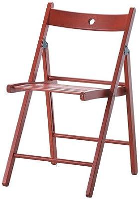 IKEA TERJE - silla plegable, rojo