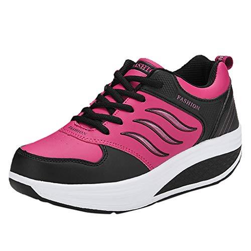 URIBAKY Plateauschuhe Damen Haferlschuhe,Dicker Unterer Schnürsenkel Outdoor Schuhe Casual,Camper Schuhe,Mode Schuhe schütteln