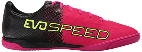 Puma Evospeed 4,5 Tricks E Scarpe da calcio Pink Glo-Safety Yellow-Black