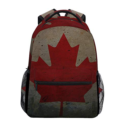 Schultasche Backpacks Misc Flag of Kanada Student Backpack Big for Girls Kids Elementary Schultasche Shoulder Bag Bookbag