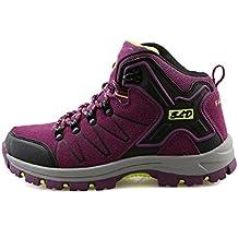 a3d08c707 TQGOLD Zapatillas de Senderismo Impermeables Aire Libre Botas de Senderismo  Zapatos de montaña para Hombre y
