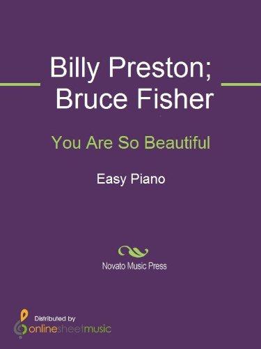 You Are So Beautiful Ebook Billy Preston Bruce Fisher Joe Cocker