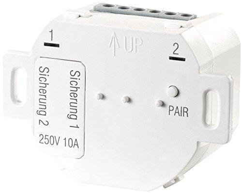 CASAcontrol Funkgesteuerte Lampen: Unterputz-Funk-Doppelschalter für Smart-Home-Basis-Station Smart WiFi (Funkschalter Unterputz)