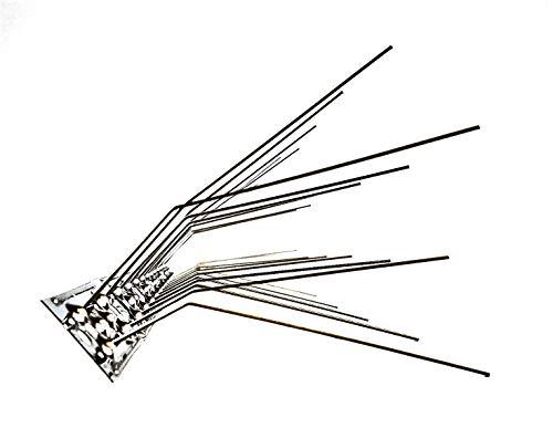 Schwalbenabwehr Schwalbenabwehrspikes Taubenabwehr komplett aus Edelstahl, 50 cm lang